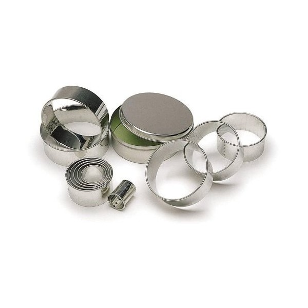 Round Pastry Cutters - Set of 11 - Sugarcraft Boutique Ltd