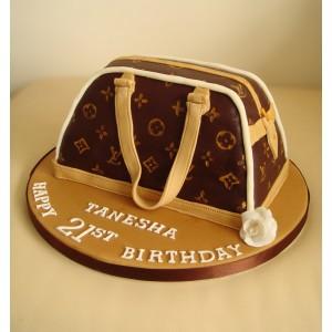 02f474b82f87 Louis Vuitton Designer Handbag - Classic Vanilla Sponge Cake ...