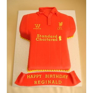 Liverpool Football Club Home Strip - Caribbean Fruit Cake ... e7dfdc6da