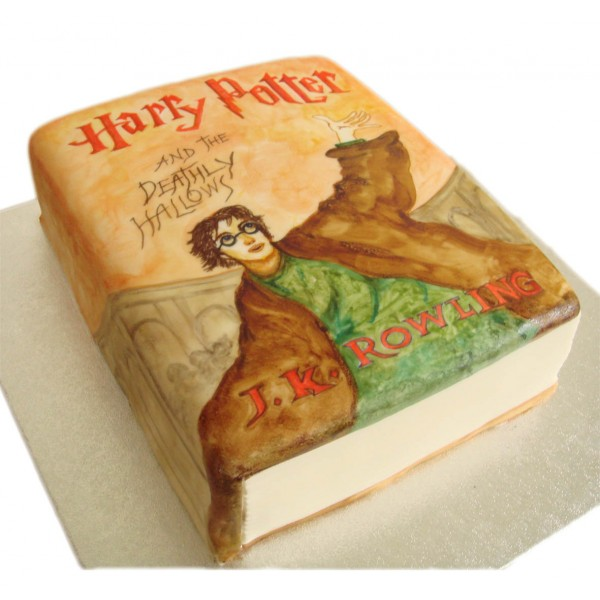 Cake Harry Potter Book : Harry Potter Book - Chocolate Cake - Sugarcraft Boutique Ltd