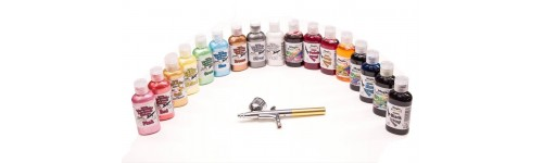 Airbrush Liquid Colours